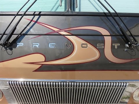 POLICE AUCTION - 2004 Marathon Prevost Coach H3-45