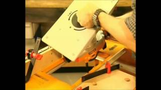 Triton Percision Router Table Demonstration