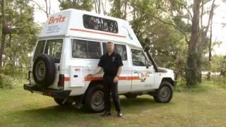 Britz Bushcamper 3 Berth Campervan | Campervan Hire Australia | Motorhome Hire