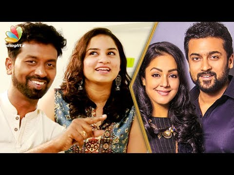 Suriya's Family is the Reason for my Marriage to Happen | Actor Jagan & Vaanmathi Interview