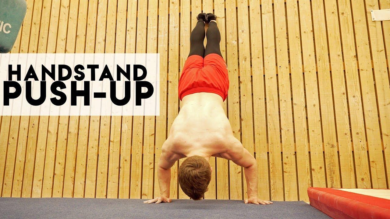 Handstand push-ups beginners