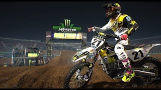 Supercross The Game 2018 DLC | Monster Energy Cup ( 4K )