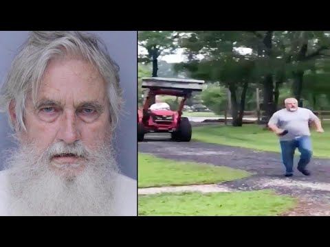 72YearOld Chases Neighbor in Tractor During Florida Property Line Feud: Cops