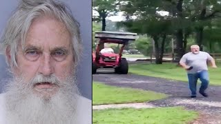 72-Year-Old Chases Neighbor in Tractor During Florida Property Line Feud: Cops