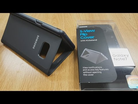 Samsung Galaxy Note 7 S -View Cover with kickstand