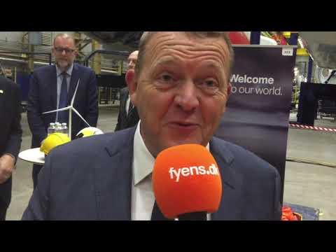 Statsminister Lars Løkke Rasmussen (V) besøgte Munkebo