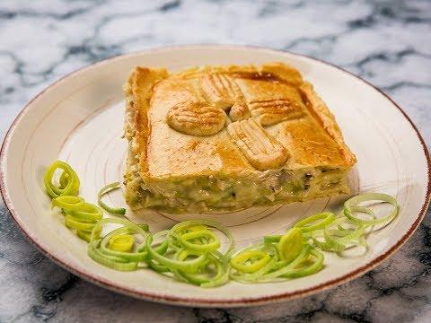 Creamy Chicken And Leek Pie