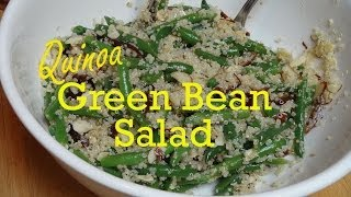 Green Beans With Quinoa Dates And Almonds - Vegan Recipe