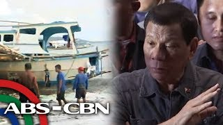 Duterte says up to China if it wants joint probe on Reed Bank incident | ANC