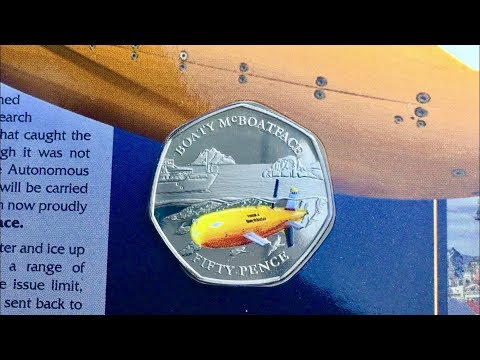 BOATY McBOATFACE 50p COIN!! || POBJOY MINT || 2018 VIDEO