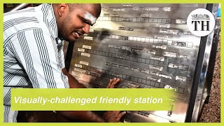 Coimbatore Railway Station becomes visually challenged-friendly