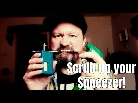 Cleaning your Hugo Squeezer Squonk box mod thing