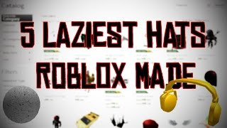 Roblox | Top 5 Laziest Items | TLL Top 5's