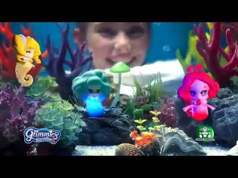 Glimmies Aquaria Κούκλα που Φωτίζει στο Νερό - 8 Σχέδια