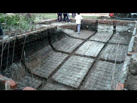 Como hacer piletas de hormigon youtube - Como hacer un piso de hormigon lustrado ...