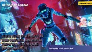 FORTNITE - I want to get all the stages of Vendetta playing scuffle and trios or squad