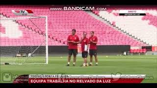 O primeiro treino do SL Benfica na época 2018/19