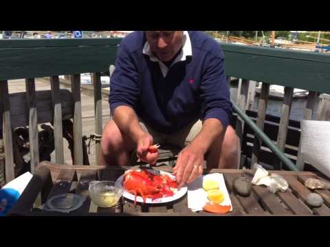 How to eat Maine lobster like a local