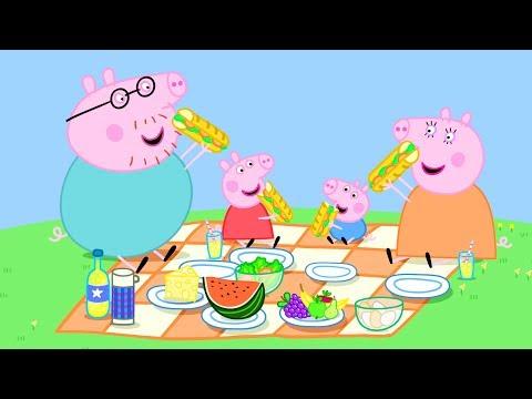 Peppa Pig Nederlands | 3 Afleveringen - Picknicks