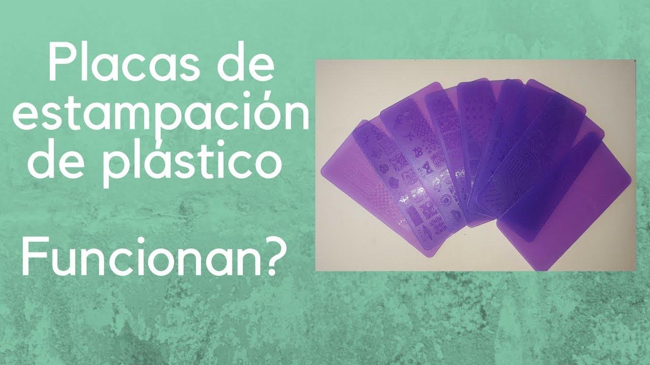 Placas de estampación de plástico, Funciona!!! - YouTube