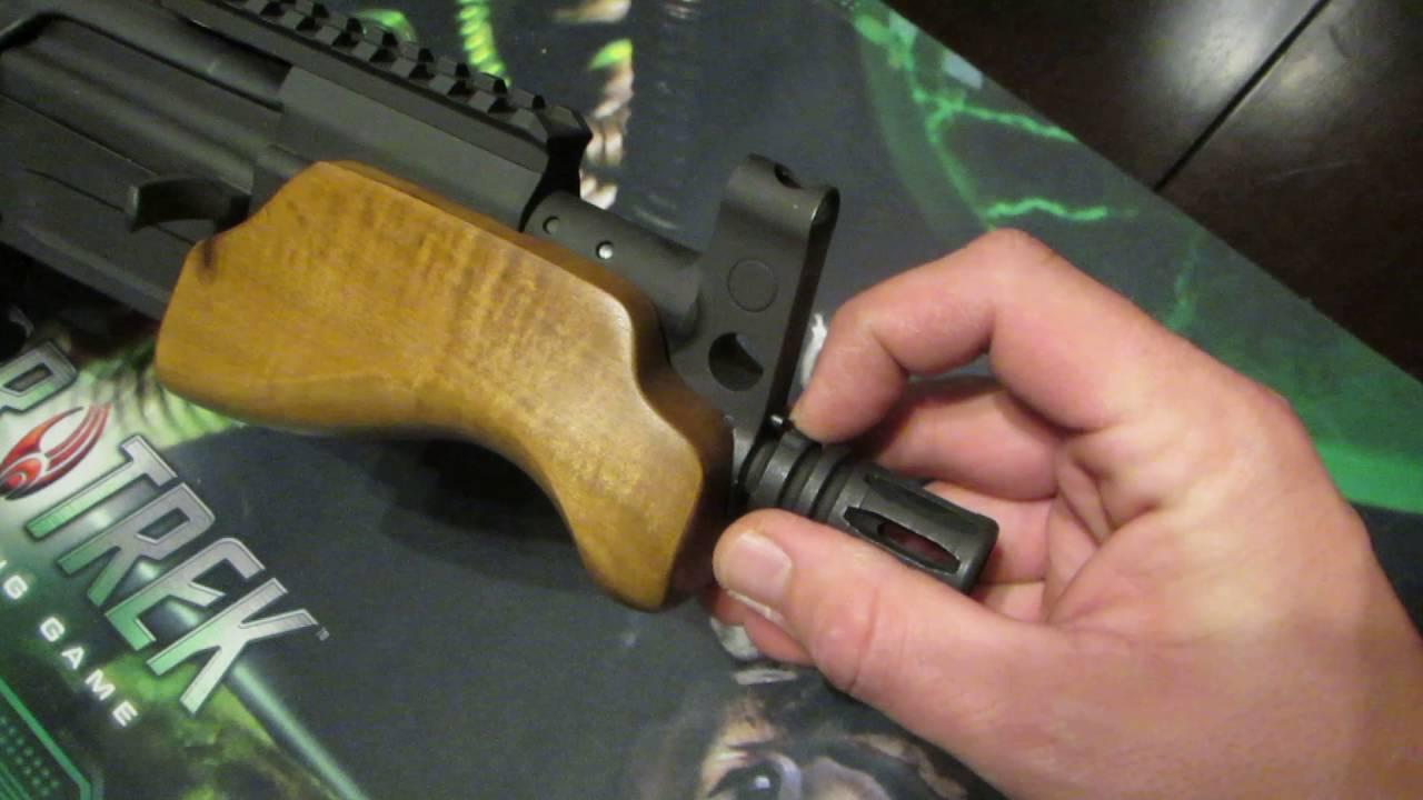 Removing Century Arms C39 Micro Handguard