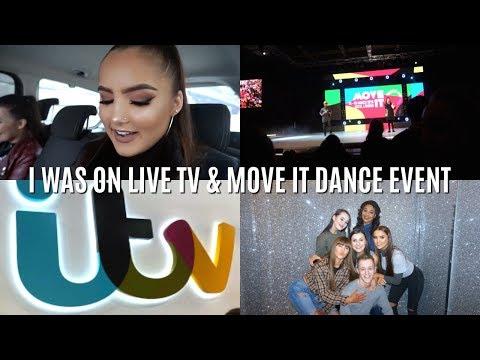 Weekly Vlog 26- I WAS ON ANT & DEC'S SATURDAY NIGHT TAKEAWAY (behind the scenes @ ITV)  | Adina May