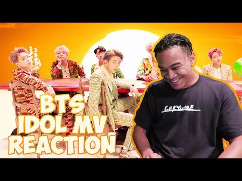 BTS (방탄소년단) 'IDOL' Official MV - REACTION   J-HOPE SHOUTED ME OUT!