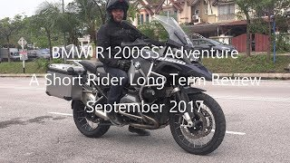 Short Rider Long Term Review of The BMW R1200GS Adventure