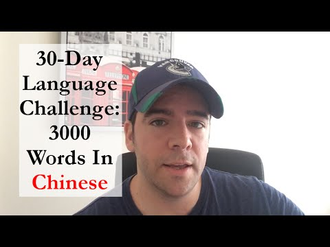 30-Day Language Challenge: 3000 Words Of Chinese (HSK 6) - 100 words/day on Memrise (& LingQ)