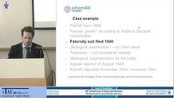 Civil Law and Ideology The Transformation of Austrian Paternity Law 1938-1945