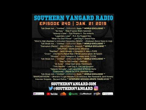Episode 240 - Southern Vangard Radio