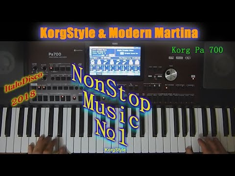 KorgStyle  -NonStopMusic №1 (Korg Pa 700) DemoVersion