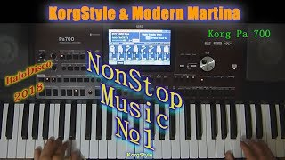 KorgStyle  -NonStopMusic №1 (Korg Pa 700) ItaloDisco