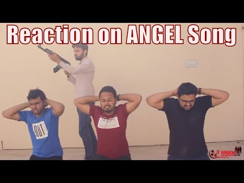Reactions on Taher Shah's ANGEL Song | The Idiotz
