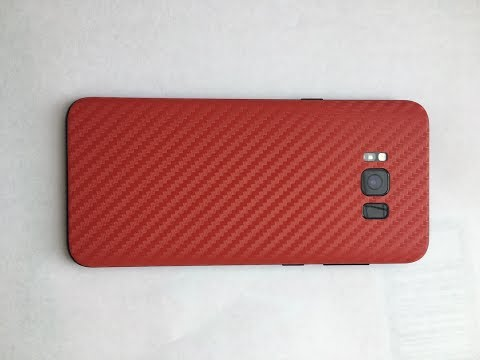 XtremeSkins Red Carbon for Samsung s8 plus, how long does it take to put it on
