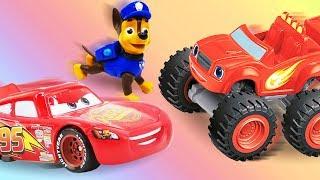 Игрушки из мультфильмов: машинки в веселой школе! Игры для детей