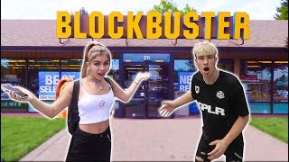FLYING TO THE LAST BLOCKBUSTER