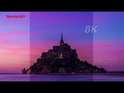 SHARP AQUOS 8K HD