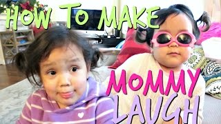 How To Make Mommy Laugh - November 27, 2016 -  ItsJudysLife Vlogs