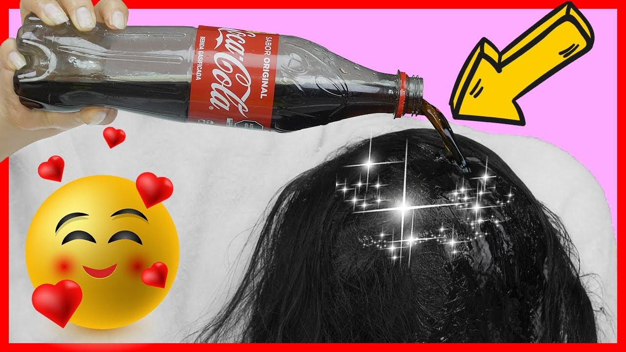 Eché 1 Botella de Coca Cola en mi Cabello y no creerás lo que ocurrió