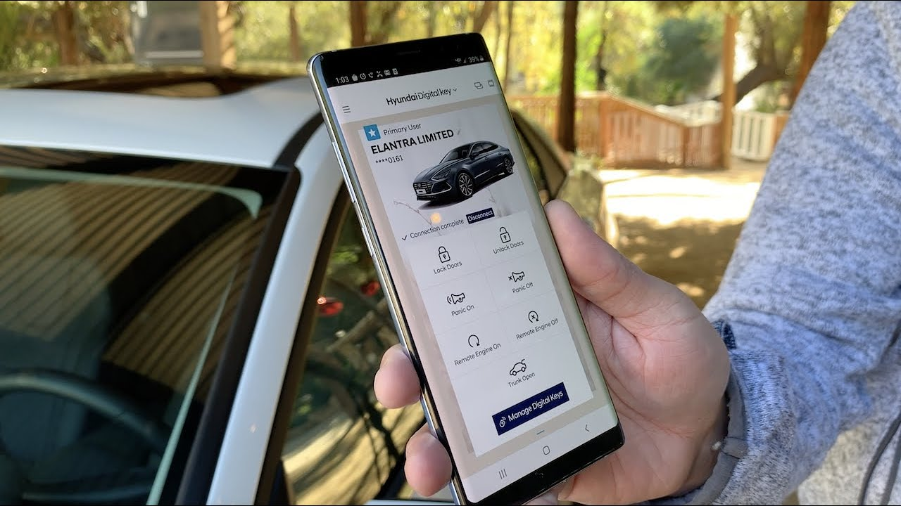 Cool features of Hyundai's Digital Key and Smart Phone App