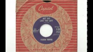 Watch Faron Young Theres Not Any Like You Left video