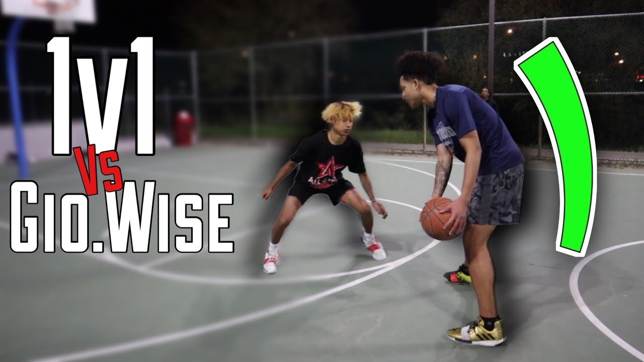 Download INTENSE 1v1 Basketball Against Gio Wise!