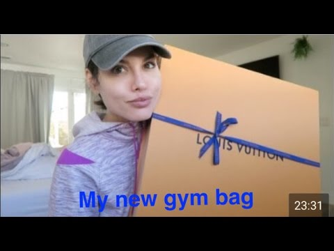 UNBOXING MY NEW GYM/EVERYDAY BAG. LOUIS VUITTON NEVER FULL GM |VLOG|