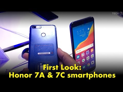 Honor 7A, Honor 7C launched in India, prices start at Rs 8,999