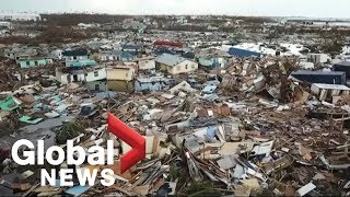 Hurricane Dorian: Crews scour rubble in Bahamas for victims of storm