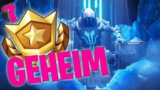 GEHEIMER BATTLE PASS STERN WEEK 7 SEASON 7 - LEVEL UP - FORTNITE BATTLE ROYALE ENGLISH