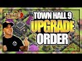 What to Upgrade First? TH 9 Upgrade Guide | Building Baby TH 9 Ep. 2 | Clash of Clans