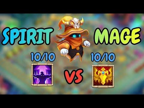Spirit Mage L 10/10 Nimble VS 10/10 Blade Dance L Castle Clash