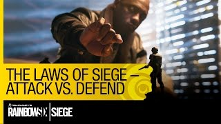 Tom Clancy's Rainbow Six Siege Official - The Laws of Siege – Attack VS. Defend [US]